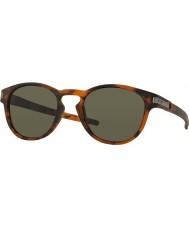 Oakley Oo9265-02 mate pestillo de la concha marrón - gafas de sol de color gris oscuro