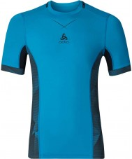 Odlo 160122-22301-M Camiseta para hombre de ceramicool