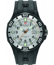 Swiss Military 6-4292-27-009-07 Mens bermudas reloj correa de silicona negro