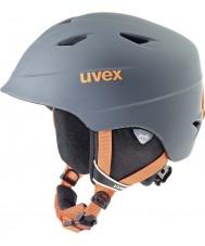Uvex 5661325803 casco de esquí de naranja pro de titanio Airwing - 52-54cm