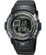 Casio G-7710-1ER reloj negro de auto-iluminador para hombre g-shock