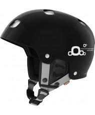 POC PO-66005 casco de esquí negro brillante ajustable 2.0 de uranio error del receptor - 51-54cm