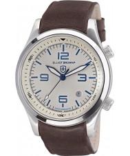 Elliot Brown 202-001-L09 Mens CANFORD reloj marrón correa de cuero