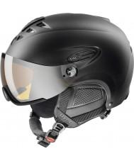 Uvex 5661622205 Hlmt 300 casco de esquí negro con visera lasergold - 55-58cm