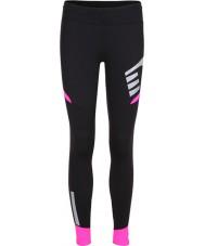 Newline 13117-066-S Damas Visio medias de color rosa negro - tamaño s
