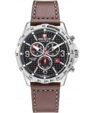 Swiss Military 6-4251-04-007 Mens as Reloj Chrono correa de cuero marrón