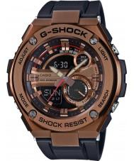 Casio GST-210B-4AER automático para hombre de g-choque llevó el reloj correa de resina negro luz