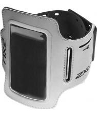 2XU UQ2409G-SIL-BLK-OSFA Plata iPod titular