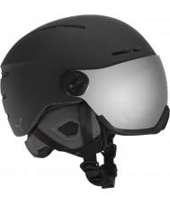 Cebe CBH125 casco de esquí de esquí negro bola de fuego - 58-62cm