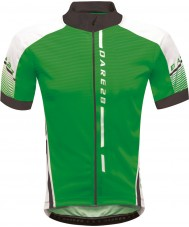 Dare2b DMT311-07H50-S Para hombre de la firma recorrido fairway maillot verde - tamaño s