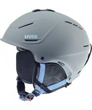 Uvex 5661535407 casco azul de esquí gris P1us - 59-62cm