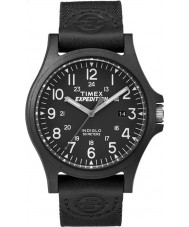 Timex TW4B08100 reloj correa de tela negro para hombre de expedición